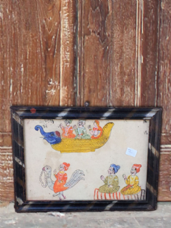 Vintage Rajasthani 2 Sided Watercolour